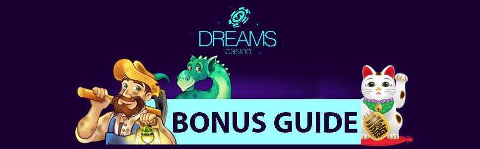 Dreams Casino Bonuses & Promotions