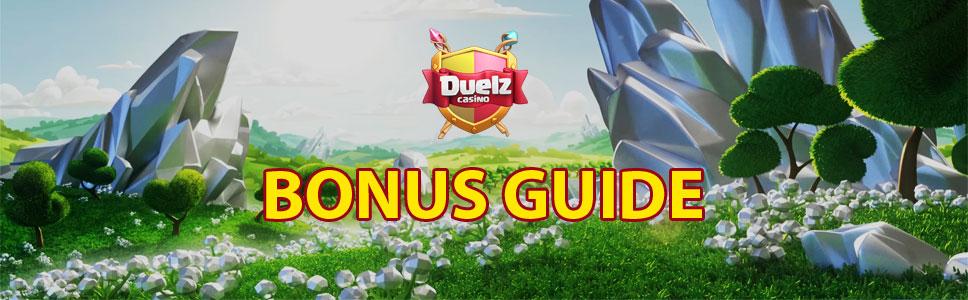 Duelz Casino Bonuses & Promotions