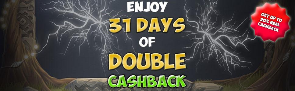 Easy Slots Casino Welcome Bonus Get Double Cashback