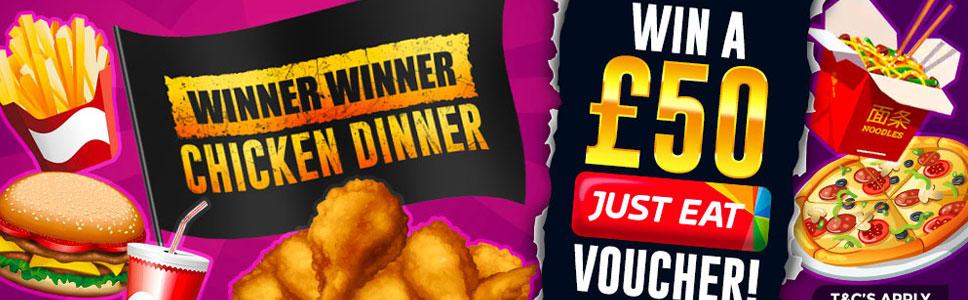 Easy SLots Casino Chicken Dinner Offer