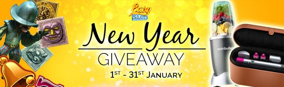 Easy Slots Casino New Year Giveaway