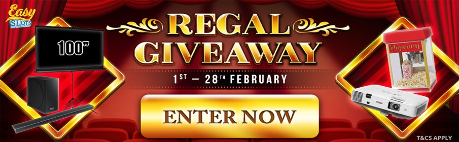 Easy Slots Casino Regal Giveaway Promotion