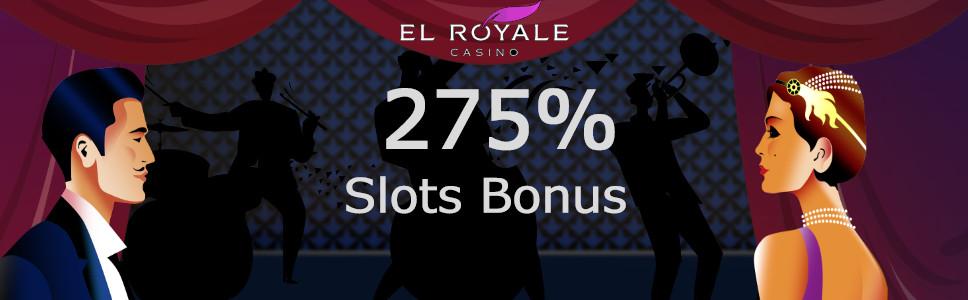 El Royale Casino Exclusive Welcome Bonus