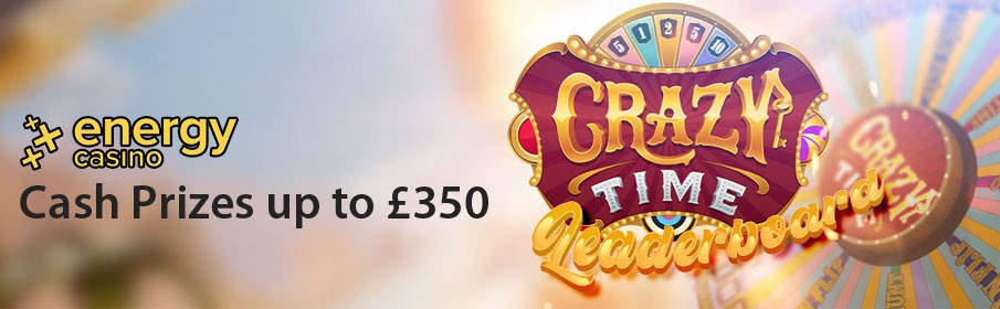 Energy Casino Crazy Time Promotion