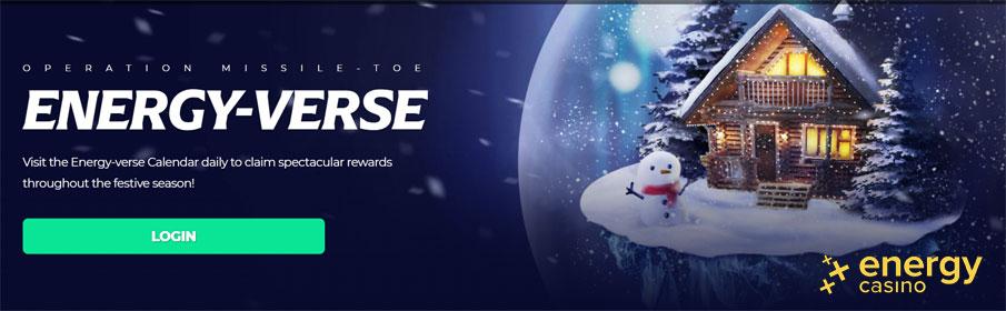 Energy Casino Operation Missile-toe Christmas Bonus