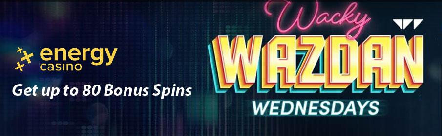 Energy Casino Wacky Wednesday Bonus