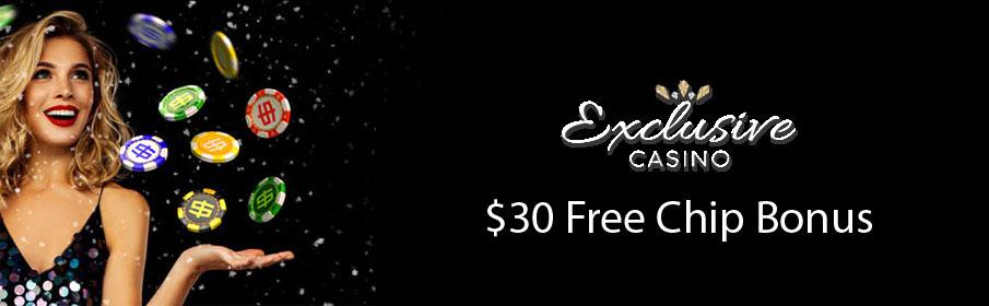 Exclusive Casino Free Chip Bonus