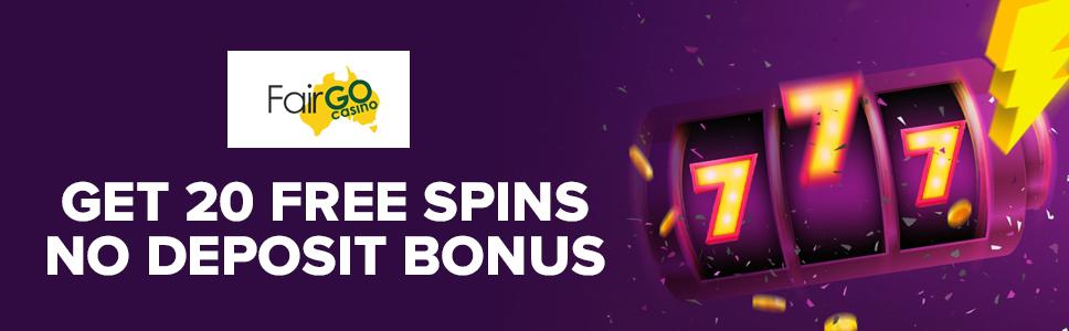 Fair Go Casino No Deposit Bonus 20 Free Spins At Diamond Fiesta