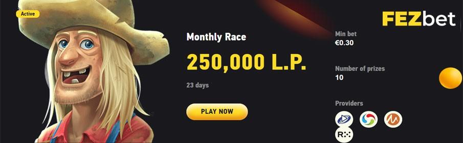 FezBet Casino Monthly Race