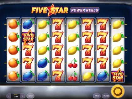 Five Stars Power Reels Slot