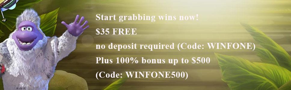 Fone Casino No Deposit Bonus Get 35 On Sign Up