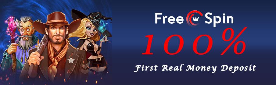 Free Spin Casino First Deposit Bonus