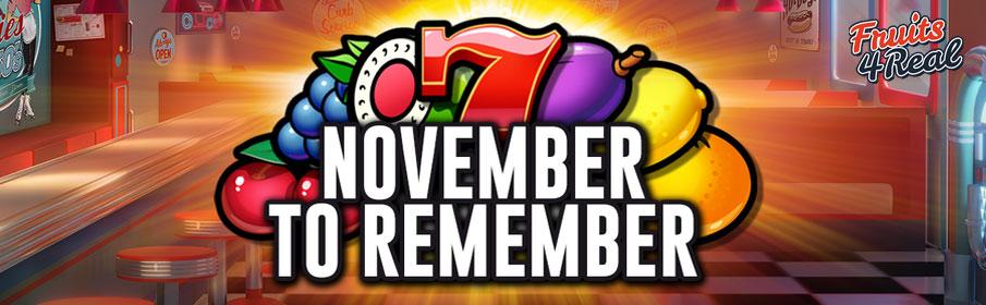 Fruit4Real Casino Monthly Bonus
