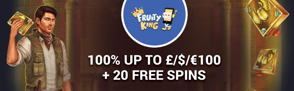 Fruity King Casino Welcome Bonus