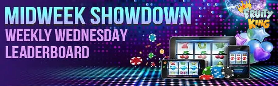 Fruity King Casino Midweek Showdown Bonus