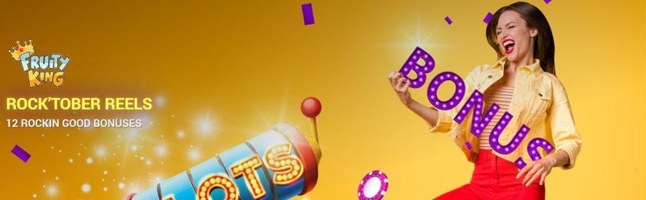 Fruity King Casino Monthly Bonus