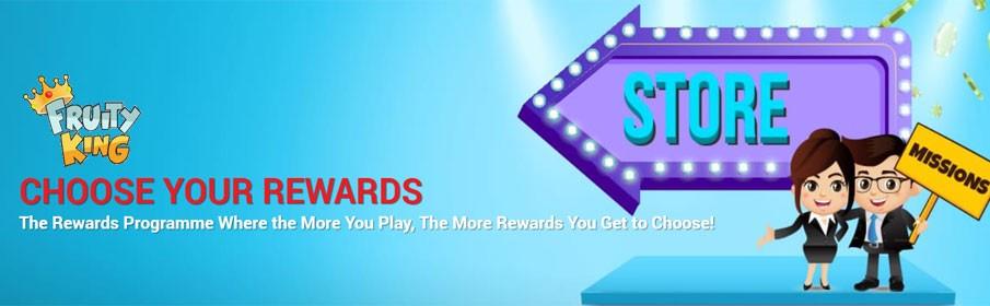 Fruity King Casino Rewards Programme