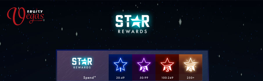 Fruity Vegas Casino Star Rewards Program
