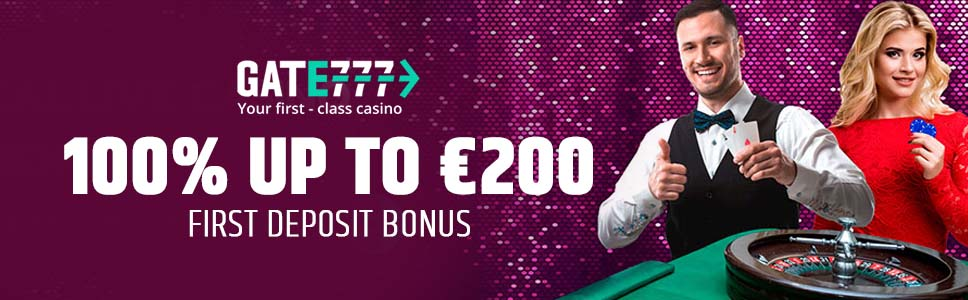 Gate 777 Casino Welcome Bonus