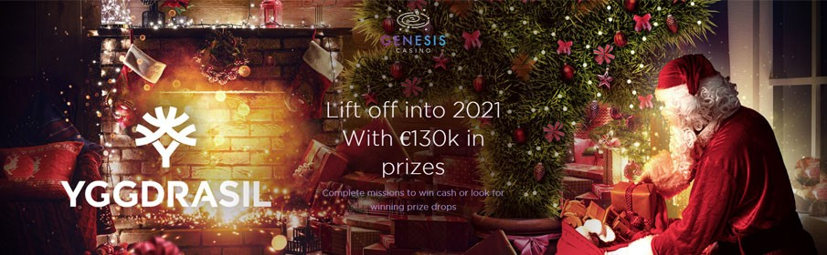 Genesis Casino New Year Promotion