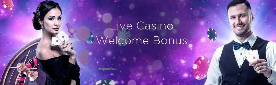 Genesis Live Casino Welcome Offer