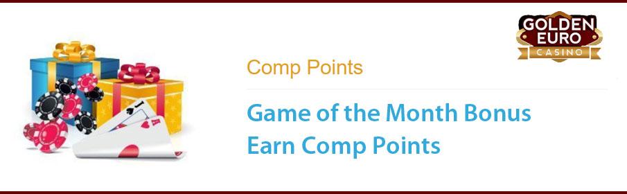 Golden Euro Casino Game of the Month Bonus