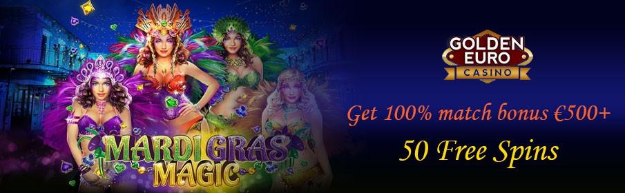 Golden Euro Casino New Game Bonus