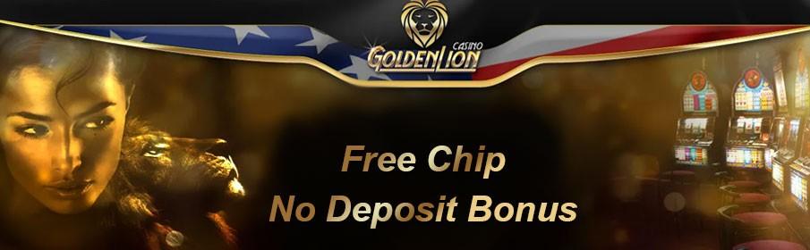 GOlden Lion Free chip bonus