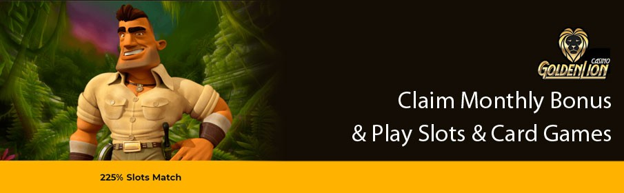 Golden Lion Casino Monthly Bonus