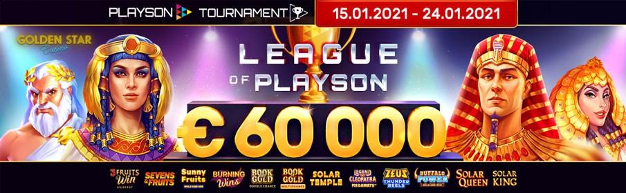 Golden Star Casino League of Playson €60,000 Tournament