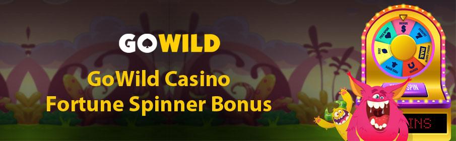 GoWild Casino Fortune Spinner Bonus
