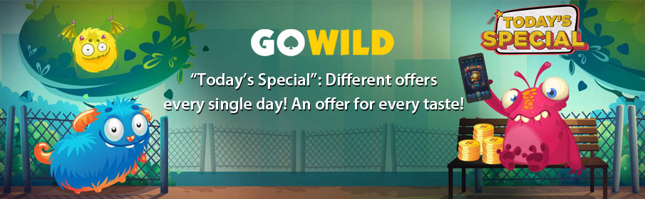 GoWild Casino Todays Special Promotion