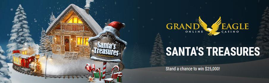 Grand Eagle Casino Christmas $25,000 Cash Prize & Match Bonus