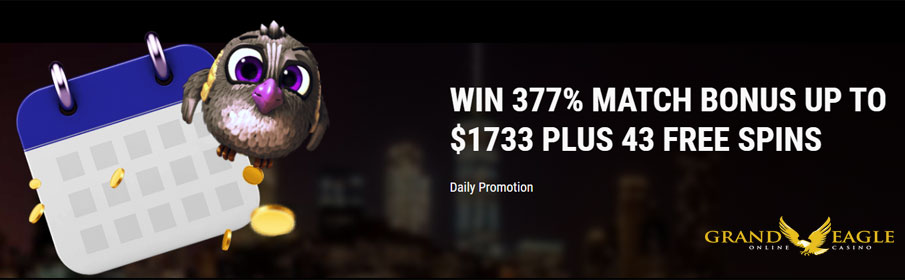 Grand Eagle Casino Daily Promotion