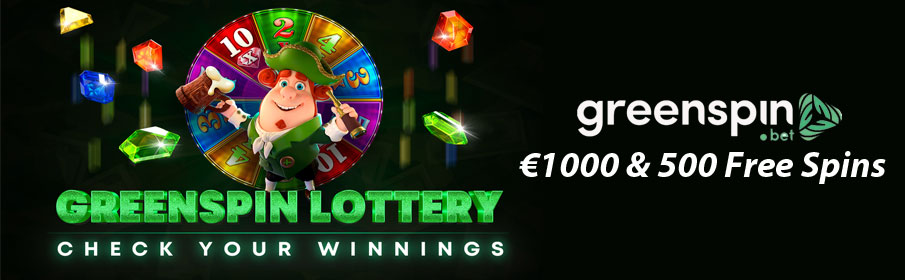 Green Spin Casino Lottery Tournament