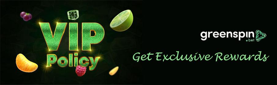 Green Spin Casino VIP Bonus