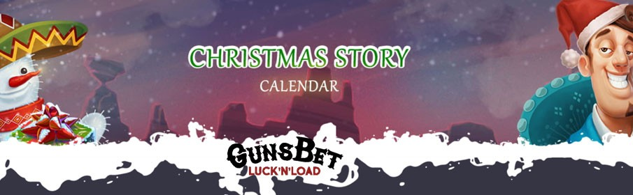 Christmas by Taking Part in the Christmas Calendar Promotion at GunsBet Casino