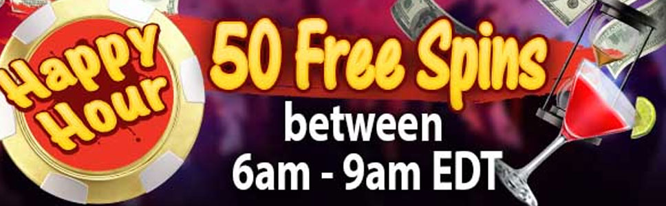 Jumba Bet Casino Happy Hour Bonus Offers 50 Free Spins
