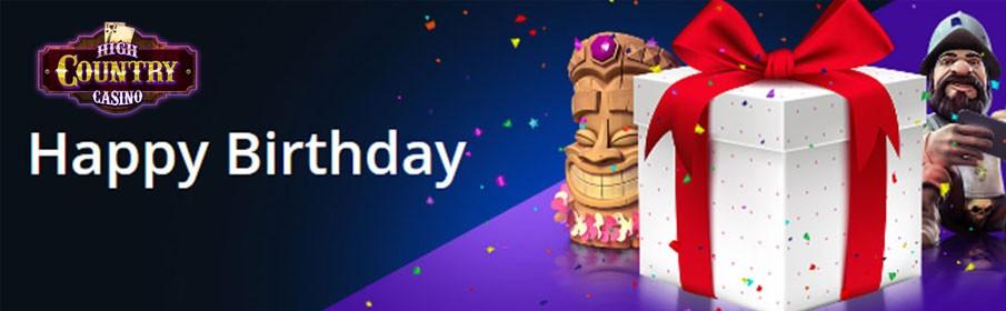 Match Deposit Bonus in the Birthday Promotion