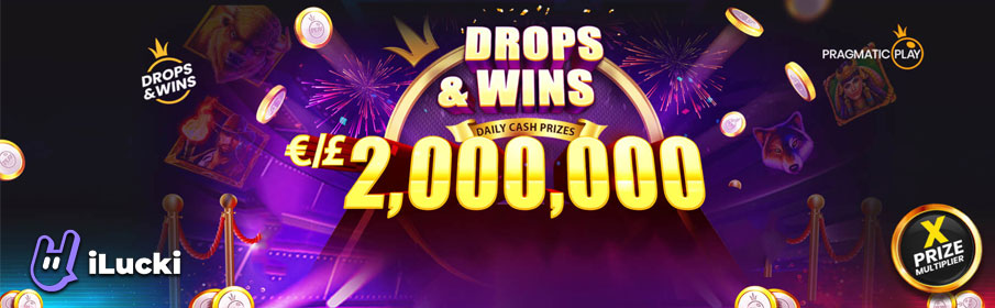 iLucki Casino Drops & Win Offer - €2,000,000 Prize Pool