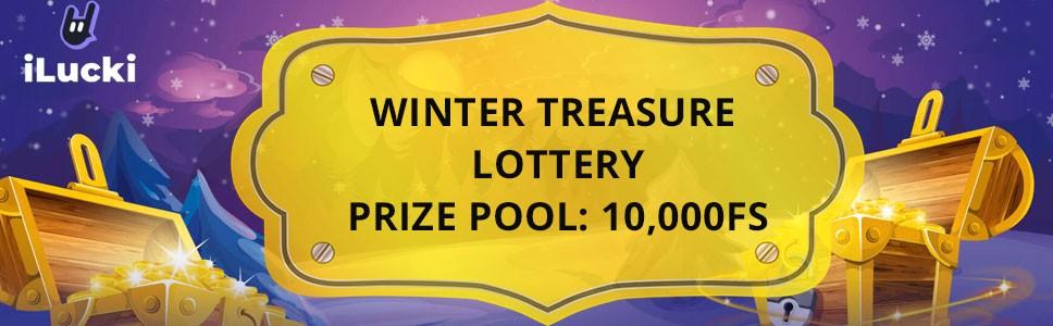 Ilucki Casino Winter Treasure Bonus