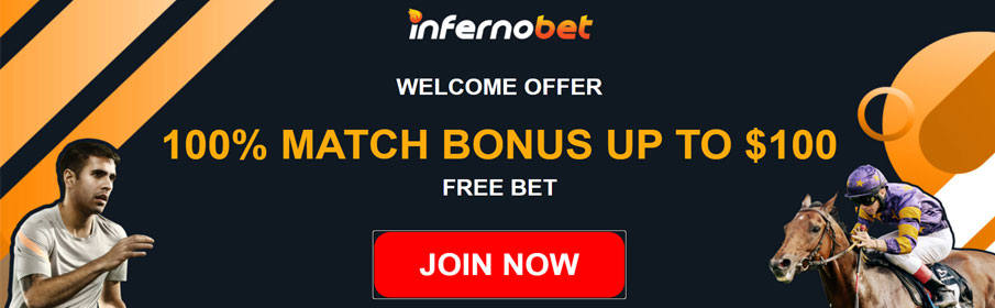 Inferno Bet Casino Sign Up Bonus