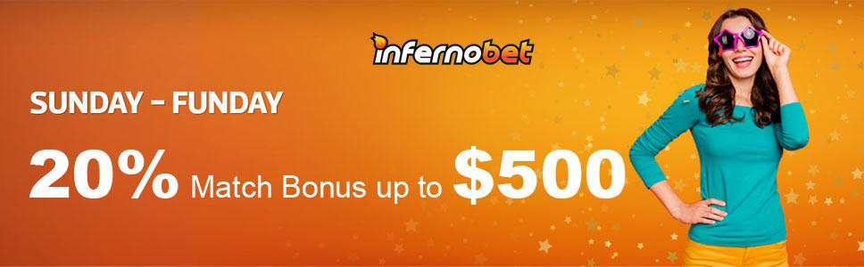 Inferno Bet Casino Sunday Funday Promotion