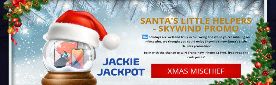 Jackie Jackpot Casino Christmas Bonuses