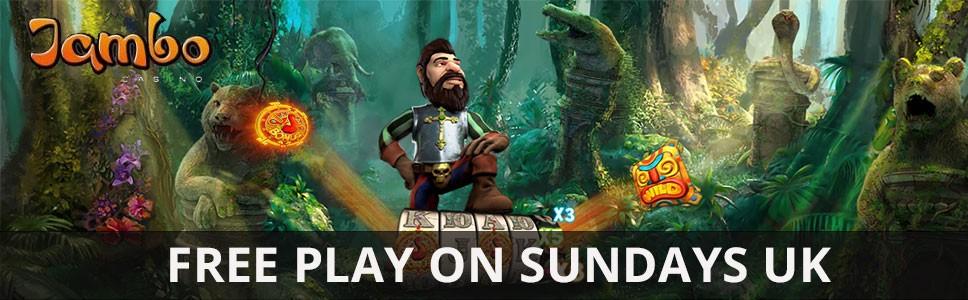 Jambo Casino Sunday Freeplay Bonus