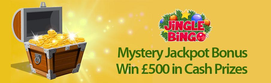 Jingle Bingo Mystery Jackpot Bonus