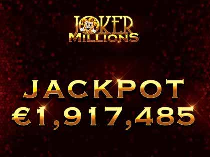 Player Wins €1.9 Million While Playing Jokers Million Slot