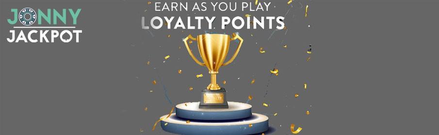 Jonny Jackpot Casino Loyalty Points