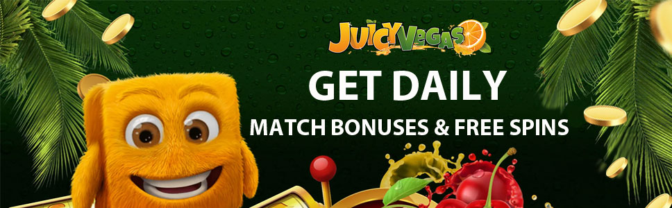 Juicy Vegas Casino Daily Offers