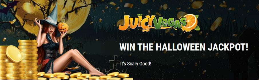 Juicy Vegas Casino Halloween Promotion